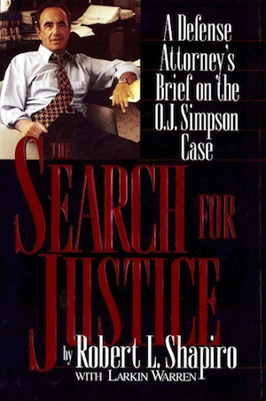 Search For Justice by Robert Sharpiro